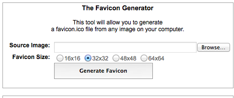 favicon generator, make favicon