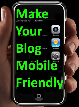 make blog mobile friendly, responsive blog