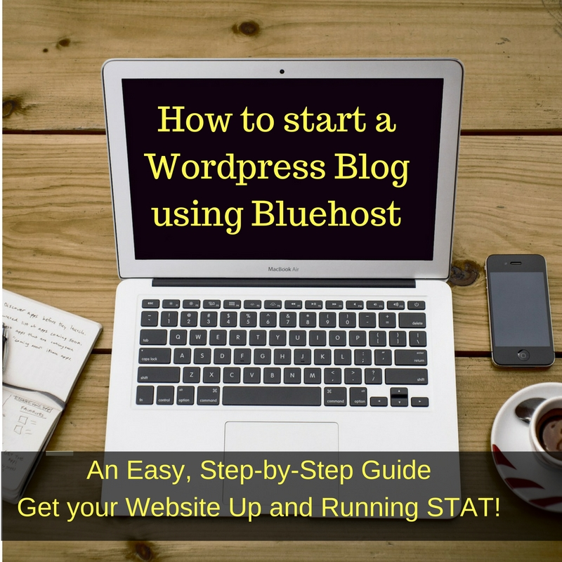 How to Start a Blog or Website Using Bluehost and WordPress