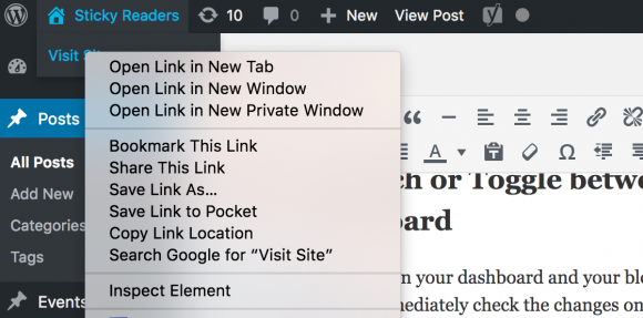 blogging, open link in new tab