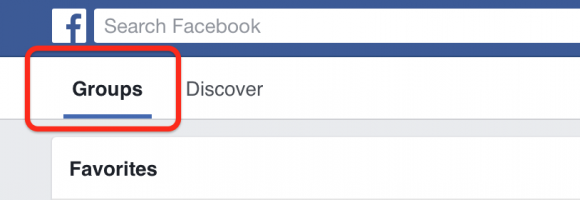 Facebook groups vs discover tabs, polls